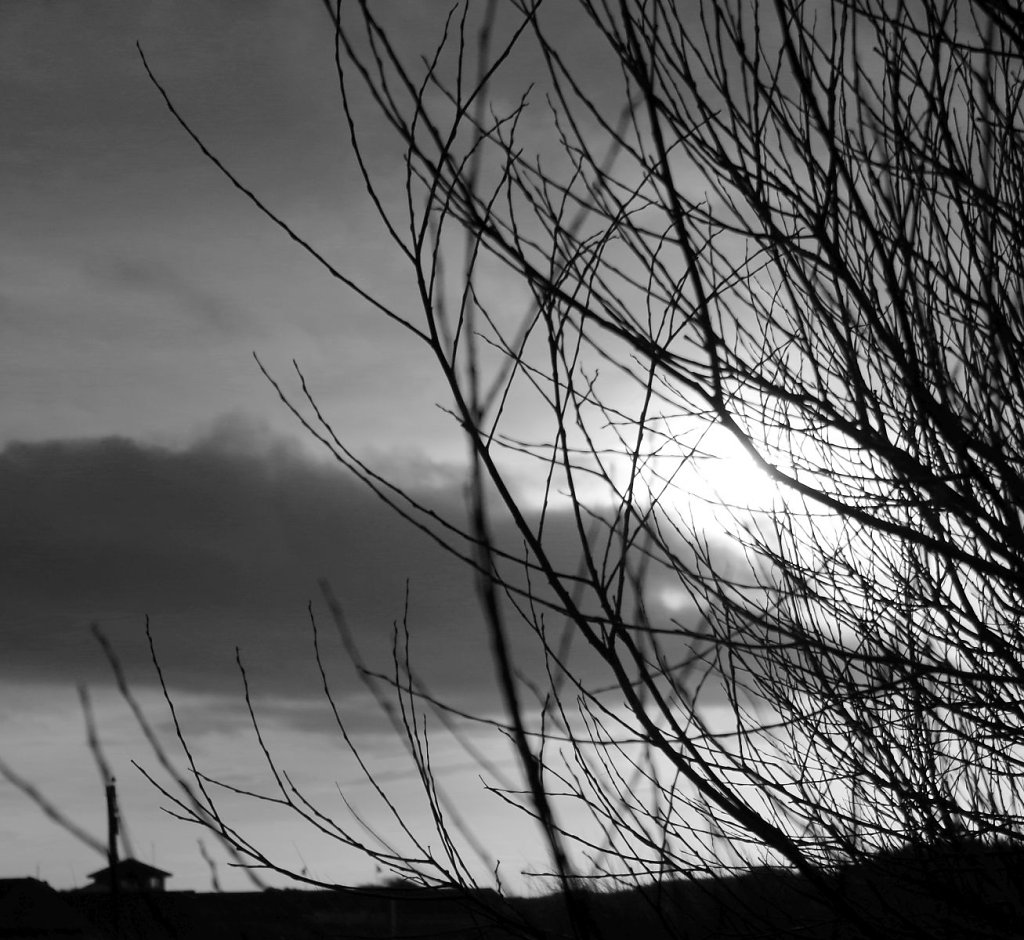 Ainsdale dunes in BW