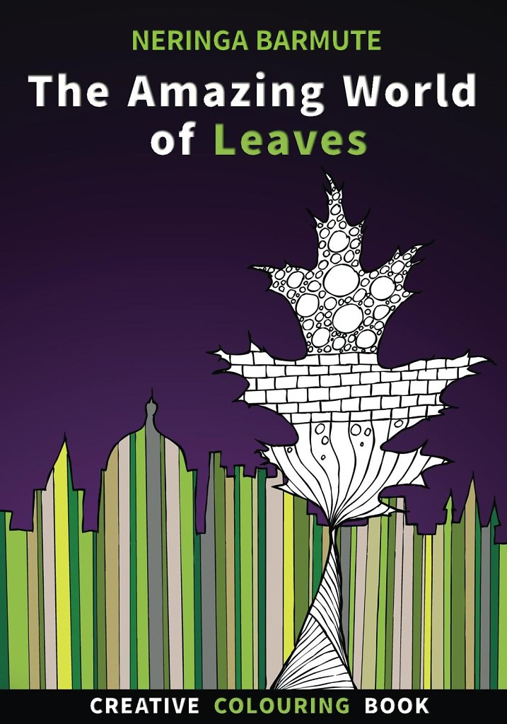 The Amazing World of Leaves - Book cover