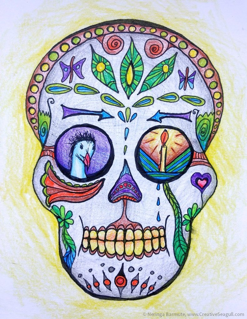 Sugar Skull: Remembrance
