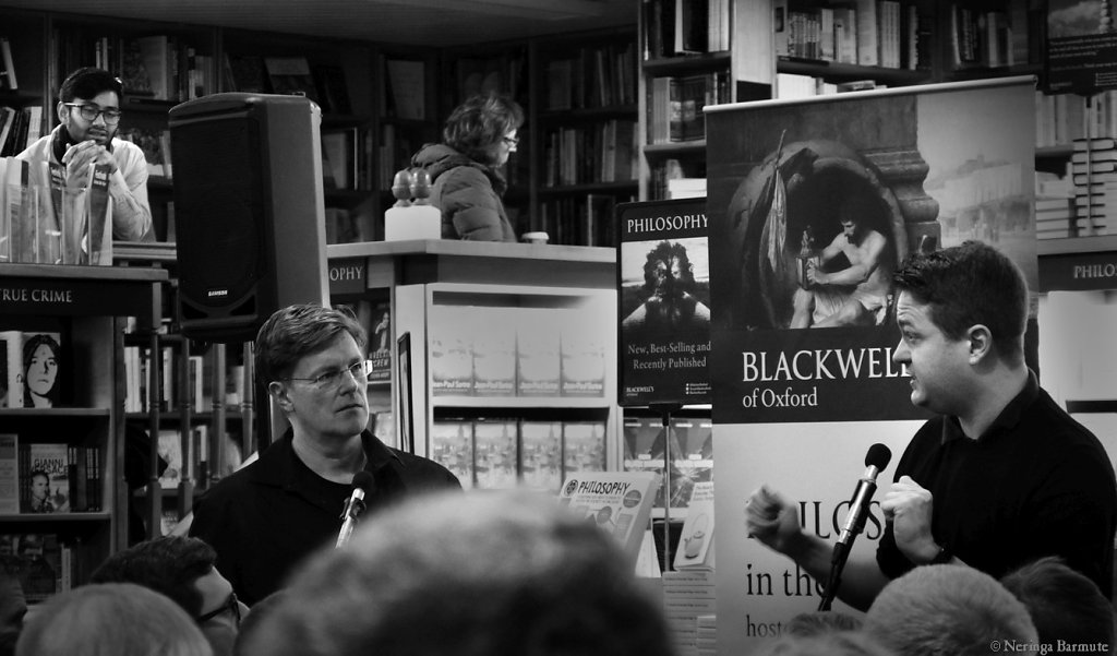 Philosophy in the Bookshop - Nigel Warburton and Johann Hari